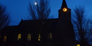 kloosterwelle in de schemering
