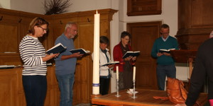 meditatief zingen bij kloosterwelle