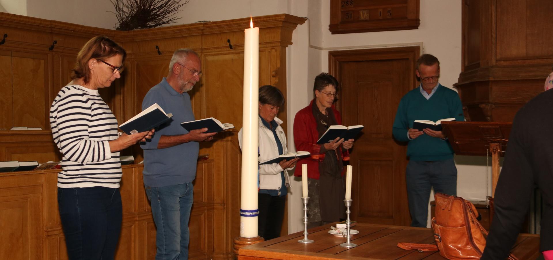 Meditatief zingen in Kloosterwelle