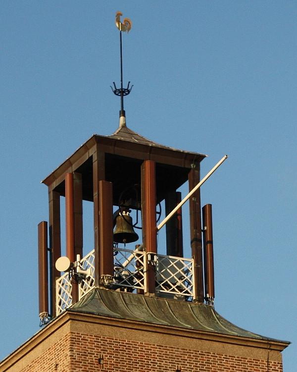 De klok van de Bethlehem kerk