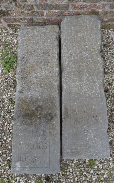 klooster Sion grafstenen